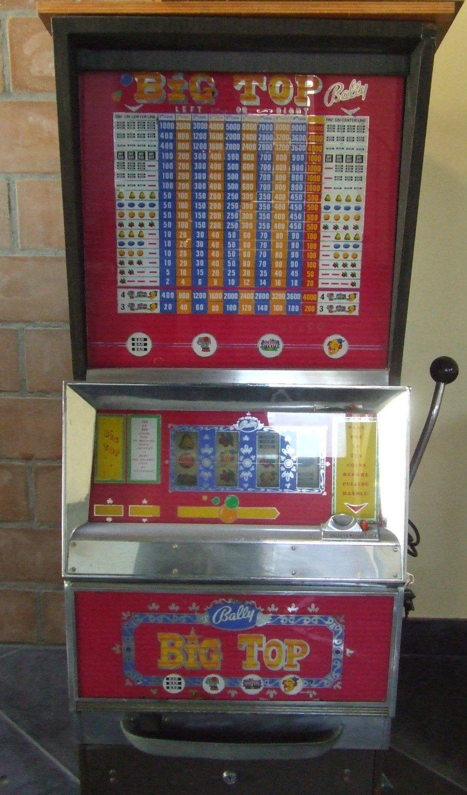 SLOT MACHINE RICAMBI E ACCESSORI