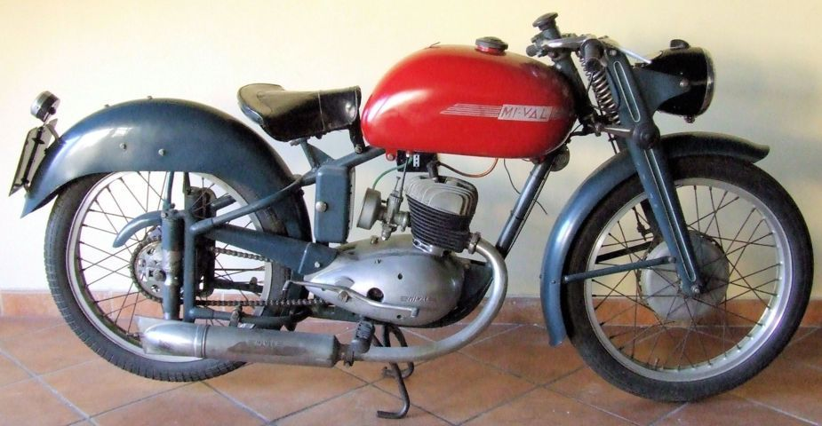 MIVAL SUPERSPORT 125 CC 3 MARCE DEL 1954
