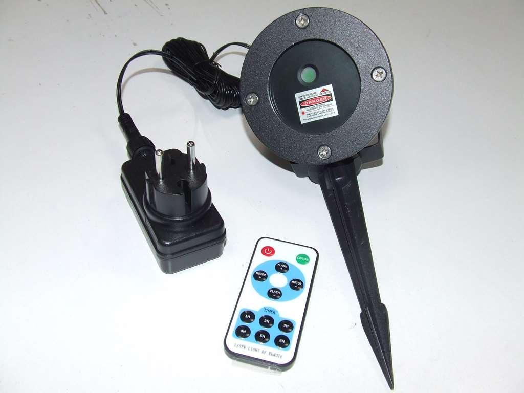 Laser con picchetto ip65 waterproof rosso verde 25.00eur