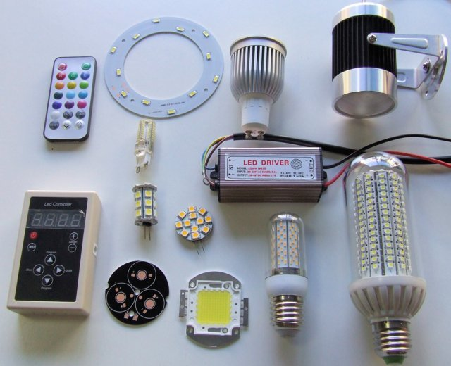 LED ACCESSORIES AND SPARE PARTS